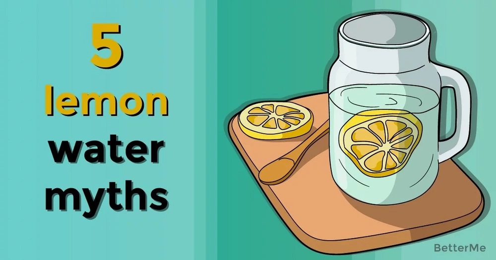 5 myths about lemon water