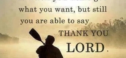 5 sure reasons to be thankful to the Lord for who you are!