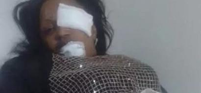 PHOTOS: Man Beats Wife Senseless Over Child Neglect