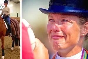 Atleta olímpico abandona los juegos para salvar a su caballo