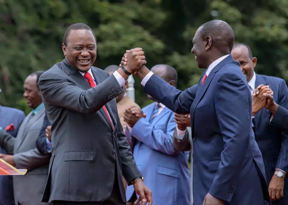 Uhuru shamed by his party days after scolding Raila for handing out direct nominations