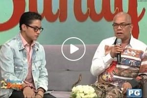 Boy Abunda sheds tears because of Daniel Padilla and Karla Estrada in 'Magandang Buhay'