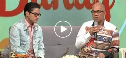 Boy Abunda sheds tears because of Daniel Padilla and Karla Estrada in 'Magandang Buhay'