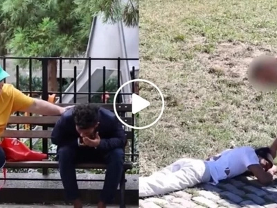 This viral video revealing how people unfairly show care for this dying RICH man vs. this dying POOR man enrages netizens