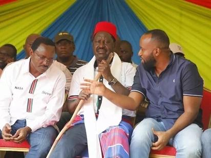 Joho supporters demonstrate outside his office, demand he be sworn in as Raila's deputy