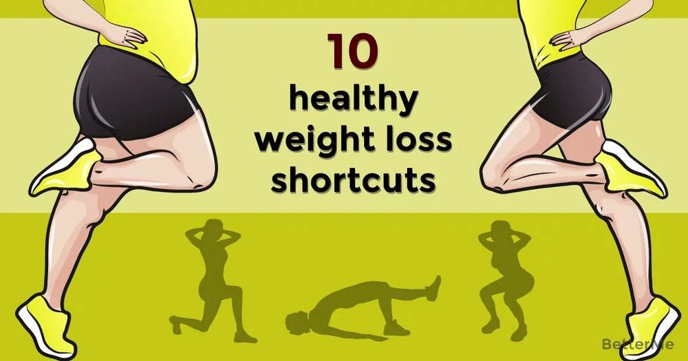 10 healthy weight-loss shortcuts