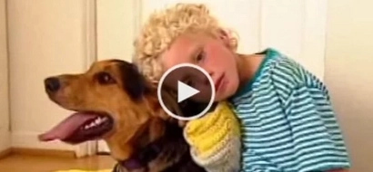 [VIDEO] This dog transformed a kid's life; find out their beautiful story