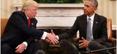"""Obama calls Trump a BULLSH-TER and is """"deeply concerned"""" about White House drama"""