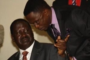 Ababu Namwamba and team plead with Raila after defecting