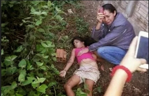 Photo of dead girl used by Duterte supporters taken in Brazil