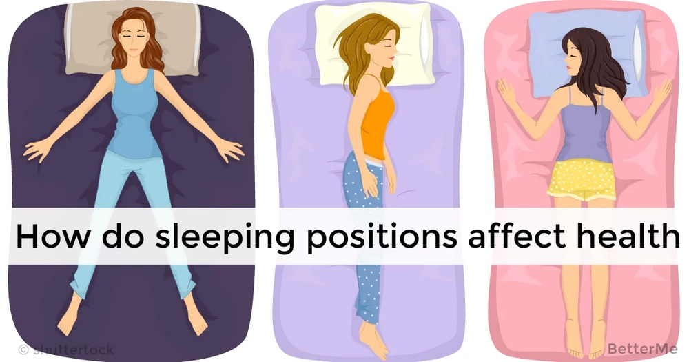 Your sleeping positions can affect your health