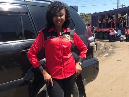 I will get three babies if Uhuru wins - Female Jubilee blogger