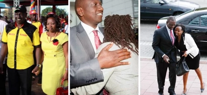 9 eye-catching moments when William Ruto's love for his wife was caught on camera