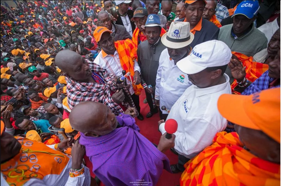 Maasai leaders give Raila a much-needed boost ahead of the August polls