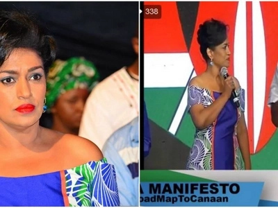 Esther Passaris slays in stunning dress during NASA manifesto launch