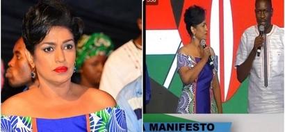 Esther Passaris awazingua wengi kutokana na rinda lake la kuvutia katika uzinduzi wa manifesto ya NASA (picha)