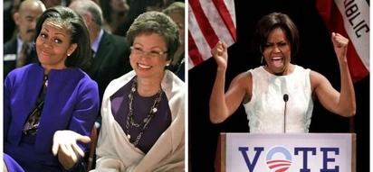 Mamake Michelle Obama aeleza alivyohisi kumwona bintiye akihutubia mkutano mkubwa North Carolina