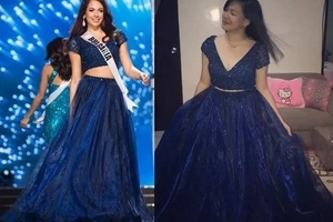 Ang swerte naman! Find out who received the evening gown worn by Miss Bulgaria!