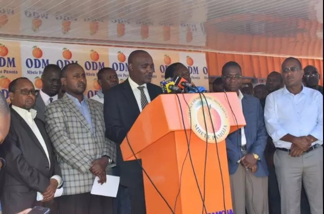 ODM reacts after Uhuru told off Joho in Mombasa