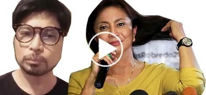 Netizens bashed Arnel Ignacio after posting a video message for Leni Robredo