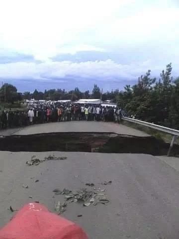 Muhoroni traders count losses after bridge collapse
