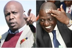 If you know William Ruto well, Gideon Moi is still in DIAPERS
