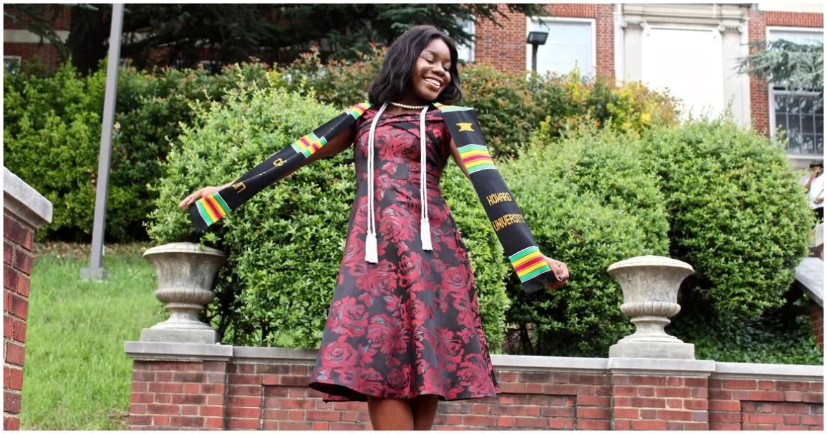 This 18-year-old Nigerian girl graduates from college with distinction and enrolls for Ph.D. (photos)