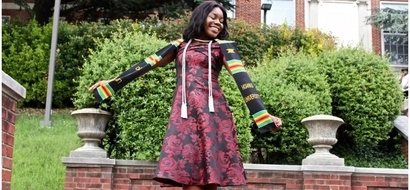 Ambitious African girl, 18, graduates from college with DISTINCTION and enrolls for PhD (photos)