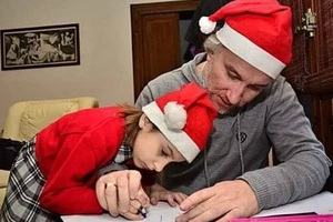 El padre recogió dinero para una extraña enfermedad de su hija, pero aseguró que mintió