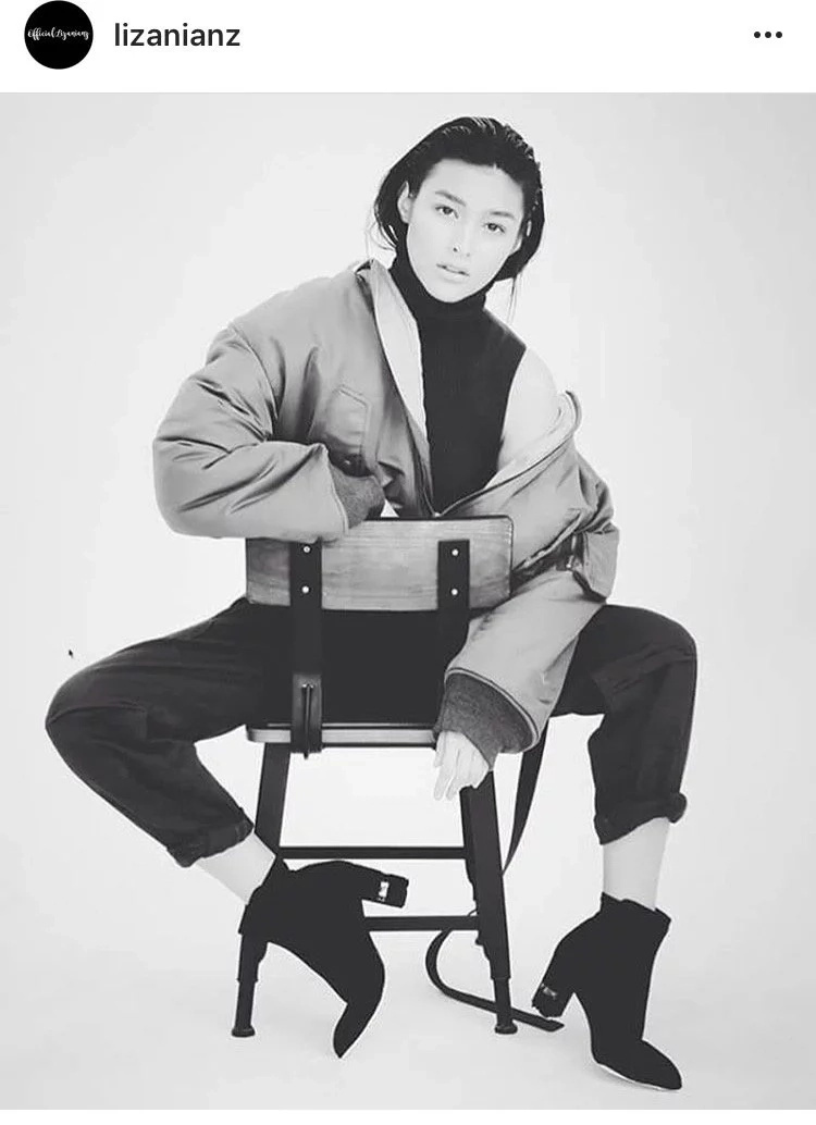 Liza Soberano androgynous in Preview magazine