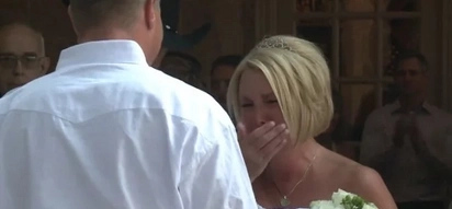 She married him thinking he would never walk again! See his wedding surprise!