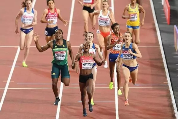 Faith Kipyegon victory
