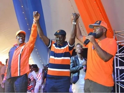 Raila's ODM beats Uhuru's Jubilee Party in 3 out of 4 by-elections across the country