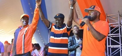 ODM paints Mombasa Orange at 10th anniversary celebrations (Photos)