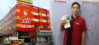 Super honest SOGO hotel cleaner returns P240,000 cash to Australian guest despite his poverty