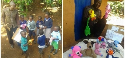 This makes my heart happy! American woman makes stuffed toys for kids, sends them to Kenyan orphanage (photos, video)
