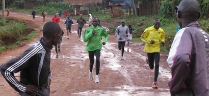 EXPOSED: Hidden cameras capture inside Kenya athletes' training camp in Iten... drugs, drugs (video)