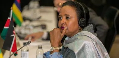 Amina Mohamed reveals secret account