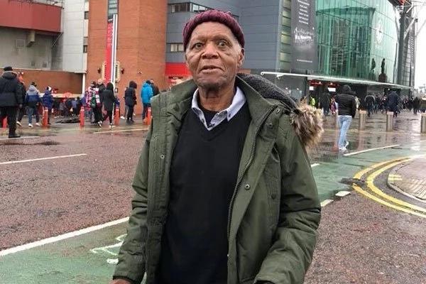 Legendary Harambee Stars player Joe Kadenge finally visits Old Trafford, meets Beckham's dad