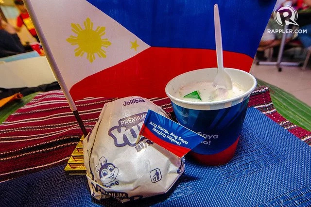 Jollibee reinvents Pinoy favorites adobo flakes burger, halo-halo sundae