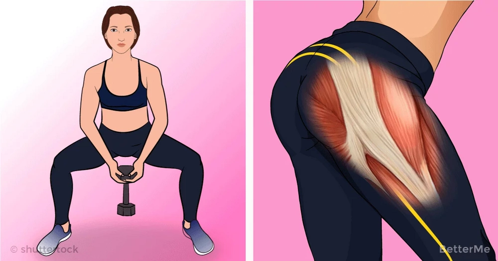 Top-10 glutes exercises for a good booty