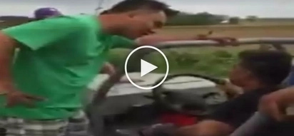 Masyadong maangas! Aggressive Pinoy brutally attacks driver and passenger in scary road rage incident