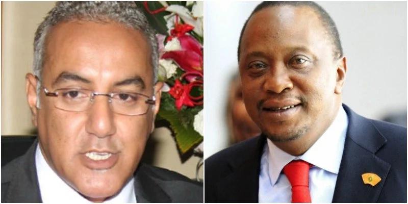 So, who is older between Uhuru and CS Balala?