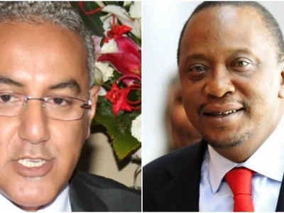 So, between Uhuru and CS Balala who is older?