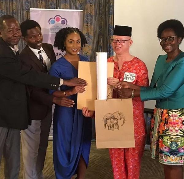 Lupita's mother honors Bahati's 'prayer partner'