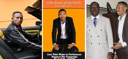 Moha Jicho Pevu surprises many with his move as he eyes a political seat