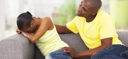 He claims to have bought one condom, but I know they come in 3s –frustrated wife