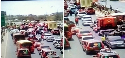 Mike Sonko's grand entry to Kasarani for Jubilee launch disrupted