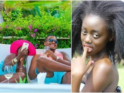 Akothee's daughter angered by her mums continued public display of affection with manager