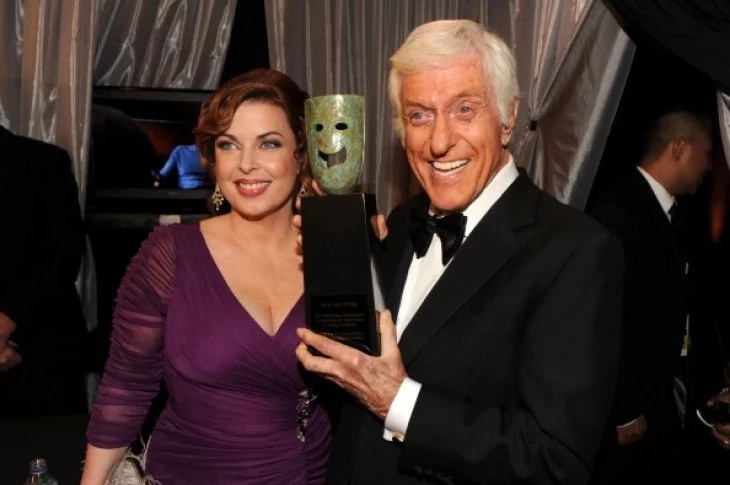 Dick Van Dyke and wife, Arlene Silver at a party | Photo: Getty Images